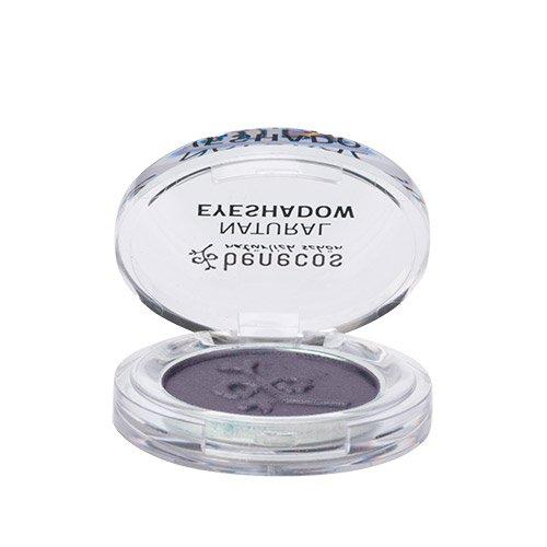 Benecos Natural Shimmery Eyeshadow (Amethyst - Shimmering Deep Purple Tone) - For Beautifully Radiant Eyes With Soft Velvety Texture, Organic, Vegan (Soft Eye Shadow Amethyst)