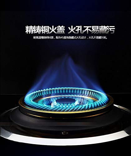 Domestic Natural Liquefied Gas Built-in Hobs Steel Glass Single Stove Blue Flame Protection Single-cooker Ranges Intense Fire by SMILESSGSP (Image #3)