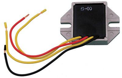 Athena Cdi Unit (Ski-Doo Voltage Regulator / Rectifier DC Model Escapade 1987-1989 Snowmobile Part# 12-3090A, 01-154-16 OEM# 410911300)