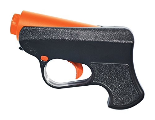 (Ruger Pepper Spray Gun - Police Strength - Reloadable with 10-Foot (3M) Range, 5 Bursts & Enhanced Facial Coverage)