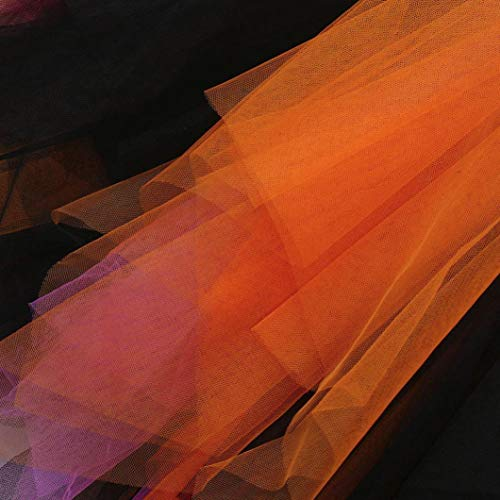 Halloween Skirt Set for Kids Girl, 3PCS Baby Girl Pumpkin Print Asymmetrical Dress+ Tops+ Hat Clothes Set (160, Orange) by Xchenda (Image #5)