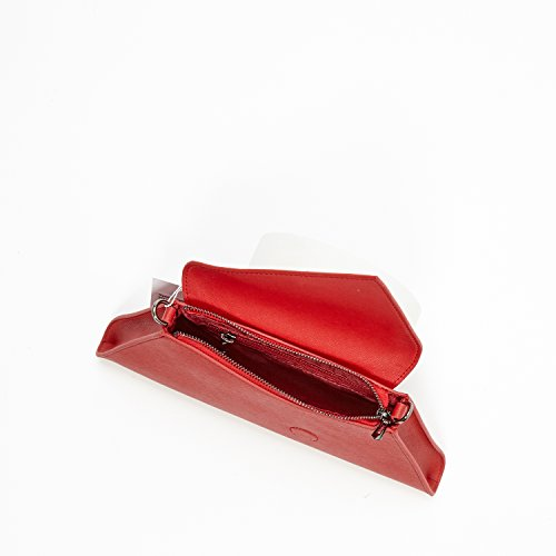 Red Purse Evening The For Clutch Colors and iPhone Bags 8 Wallet 11 Angelica Women SUSU Plus Leather Fits IXTwBn1Xp