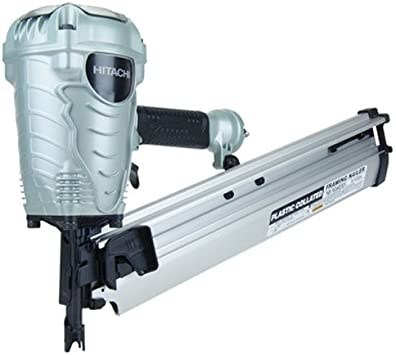 """NEW w//Full Warranty! Hitachi NR90AD S 3-1//2/"""" Paper Collated Framing Nailer"""