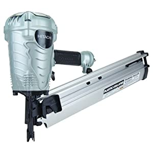 "Hitachi NR90AE(S) 3-1/2"" Plastic Collated Full-Head Framing Nailer"