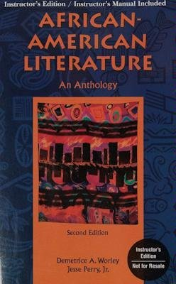 Search : African-American Literature: An Anthology