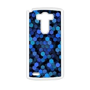 Artistic aesthetic blue neon light fashion phone case for LG G3