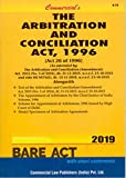 The Arbitration and Conciliation Act, 1996 (Bare Act 2019)
