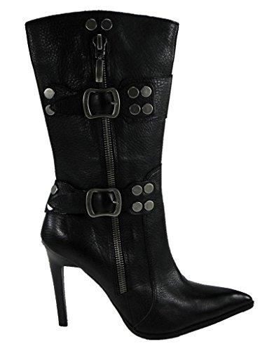 Harley-davidson Dames Victoria Zwarte Hoge Hak Laarzen