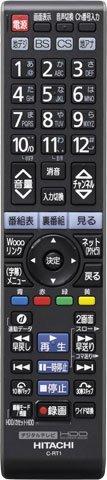 代替リモコンC-RT1 C-RS4 C-RT4 C-RS5 C-RT6(代替品) C-RT7 HITACHI TVリモコン product image