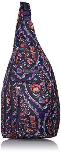 Vera Bradley Women's Lighten Up Sling Backpack, Black, One Size