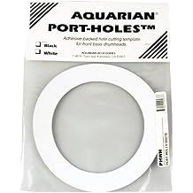 Aquarian Drumheads PHWH White Port-Holes 5-inch