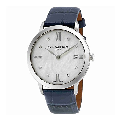 Baume et Mercier Classima Mother of Pearl Diamond Dial Ladies Watch 10299