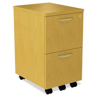 Alera SE521620MP SedinaAG Series Mobile File/File Pedestal, 15-3/8 x 20 x 26-5/8-Inch, Maple ()