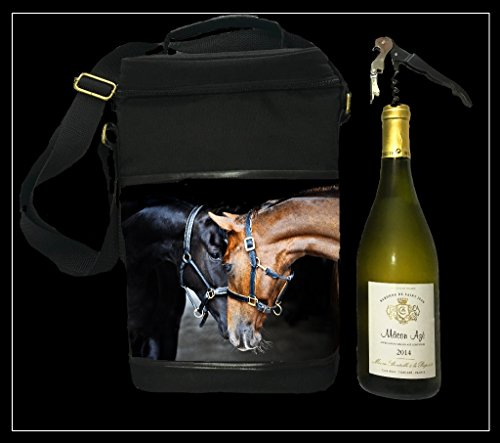 Country Matters Old Friends Horse design vino isolato picnic Cool bag