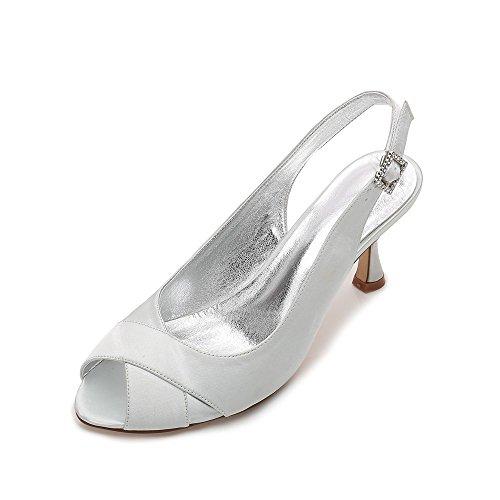 Schuhe Heel Schuhe High Zehe High Tanz Hochzeit Ankle Zxstz Offene Party Damen Heels Zq6YTC
