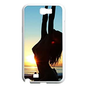 Samsung Galaxy Note 2 N7100 Sexy girl Phone Back Case Personalized Art Print Design Hard Shell Protection HB070412