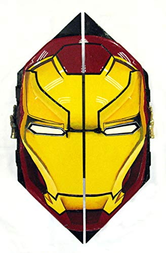 Iron Man curio cabinet, whimsical- unique & hand-painted piece. Superhero, hand-painted.