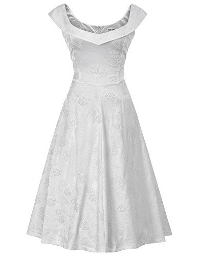 60s wedding dress short - 8