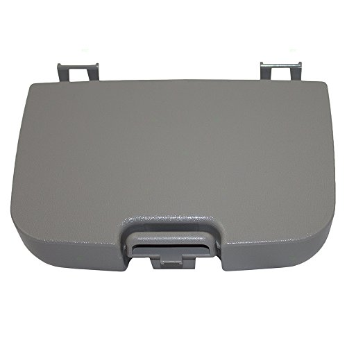 Overhead Console Sunglasses Holder Box Gray Storage Bin Replacement for Ford Super Duty Pickup Truck w/out Sunroof 2C3Z7811586BAB (Storage Overhead Bins)