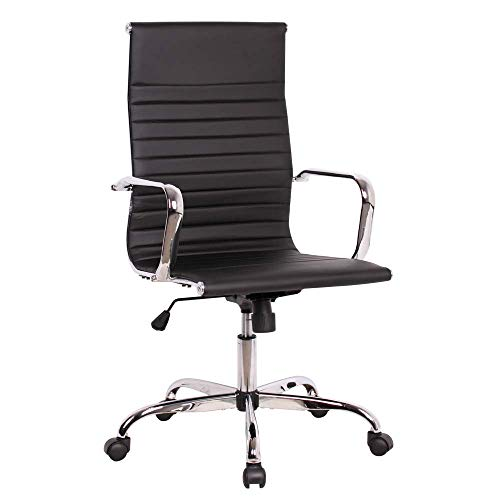 Sidanli Conference Room Chairs Black Office Chair-High Back Desk Chair - High Back Conference Chair