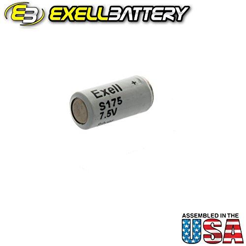 Exell Battery S175 Replaces Dantona TR175S, Eveready E175, Vinnic H1154 USA Ship