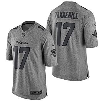 timeless design 005a4 e69c8 Miami Dolphins Gridiron Grey Limited Jersey - Ryan Tannehill ...