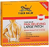 Cheap Tiger Balm Pain Relieving Patch Large 4 Each (Pack of 2)