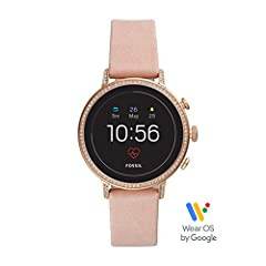 Operating System: Wear OS by Google. Sensors: Optical Heart Rate, Ambient Light, Barometric Altimeter, GPS, Accelerometer, Gyroscope, Microphone. Processor: Qualcomm Snapdragon Wear 2100. Connectivity: Bluetooth(R) 4.1 Low Energy and Wi-Fi 80...