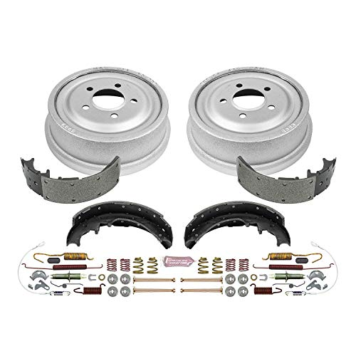 Power Stop Rear KOE15265DK Daily Driver Drum and Shoe Kits ()