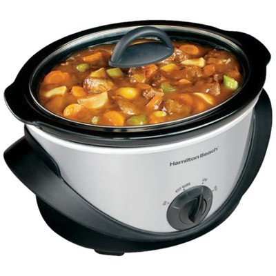 Hamilton Beach 33141 4 Quart Slow Cooker by Hamilton Beach