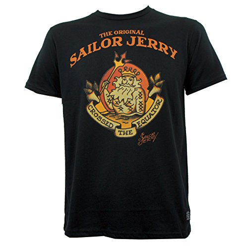 Sailor Jerry Neptune Slim Fit T-Shirt Black