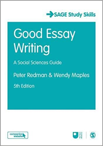 good essay writing sage study skills series amazon co uk peter  good essay writing sage study skills series amazon co uk peter redman wendy maples 9781473982161 books