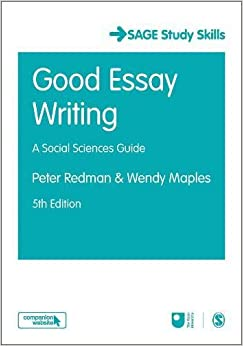 good essay writing sage study skills series amazon co uk peter good essay writing sage study skills series
