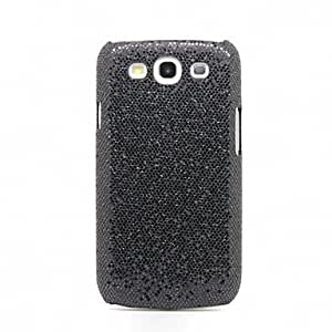 get Glittery Paillette Style Hard Case for Samsung Galaxy S3 I9300 (Assorted Colors) , Black