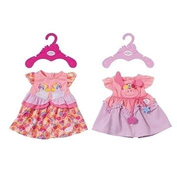 Kleidung & Accessoires bunt Zapf Creation 824481 Baby Born Sommerkleid Set mit Pins