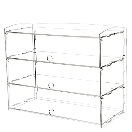 AJO Acrylic Pastry Display Case for Deli Bakery Convenience Stores Display (3 - Pastry Case Acrylic Display