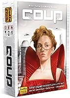 Indie Boards & Cards Juego de cartas Coup (The Dystopian Universe)