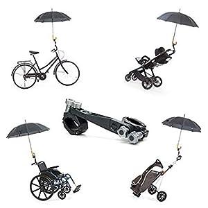 41UHjbQ6pPL. SS300 Supporto per ombrellone Per Passegino | Universale per carrozzina, sedia a rotelle, carrello da golf, biciclette…