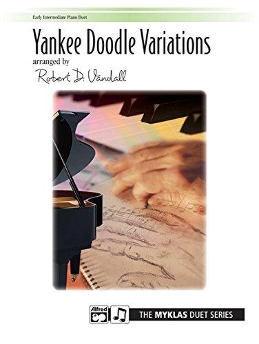 Yankee Doodle Variations - Piano Duet
