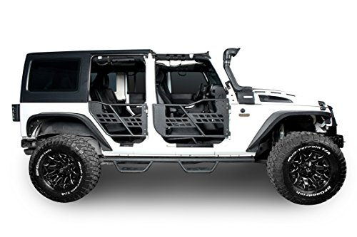 Opar Wide Drop Side Steps Nerf Bars For 07 17 Jeep