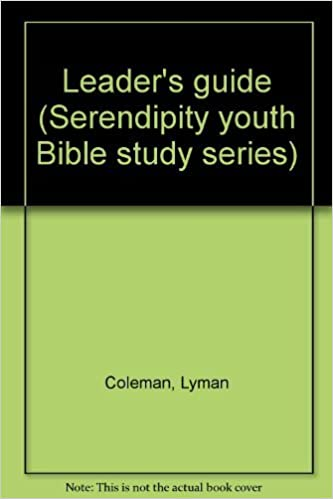 Book Leader's guide (Serendipity youth Bible study series)