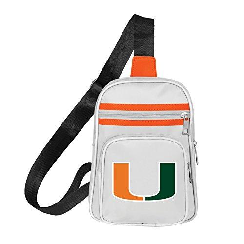 NCAA Miami Hurricanes Mini Cross Sling Bag