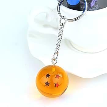 4S) LLavero 3D Dragon Ball Z (4 Estrellas) - Bola de Dragón Z: Amazon.es: Ropa y accesorios