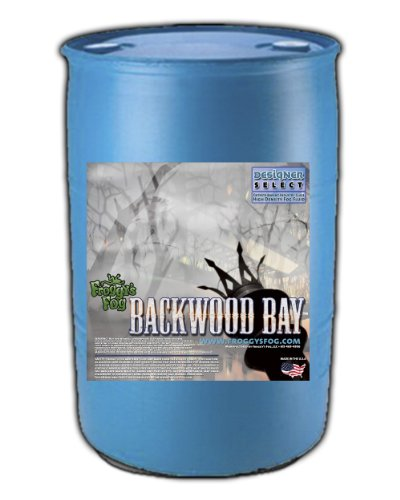 (Backwood Bay (Extreme Hang Time Longest Lasting Fog Fluid) - 55 Gallon Drum Fog Juice)