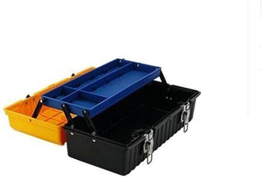 Caja de herramientas de plástico grande de 17 pulgadas, caja de ...