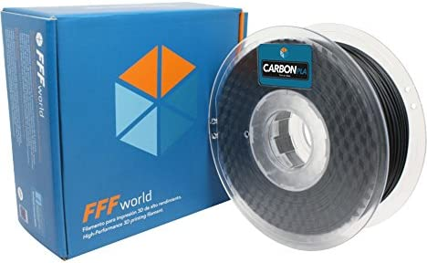 FFFworld 1 kg. Carbon PLA 1.75 mm: Amazon.es: Electrónica