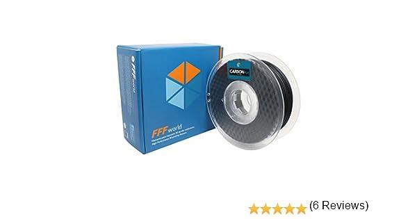 FFFworld 1 kg. Carbon PLA 1.75 mm: Amazon.es: Electrónica