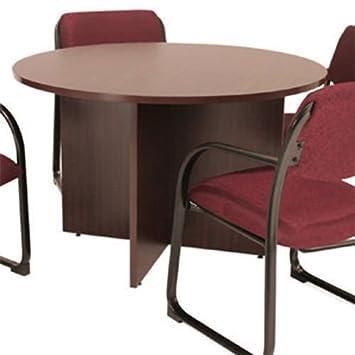 Redondo conferencia mesa, mesa de reuniones, hogar o oficina ...