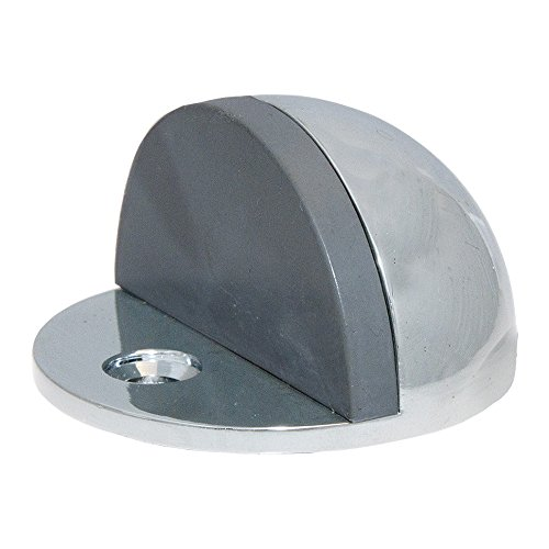 ABH Half Dome Low Rise Door Stop Polished ()