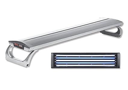 Plafoniere T5 Per Acquari Usate : Plafoniera wave stratos marine silver sistema di illuminazione per